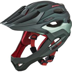 Alpina King Carapax Cykelhjelm, seamoss